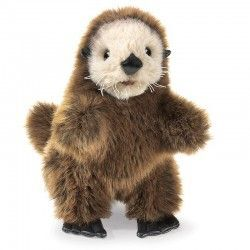 TITERE BABY SEA OTTER PUPPET