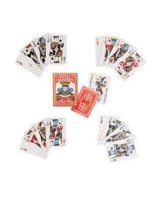 PLAYING CARDS ROYAL READERS