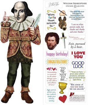 QUOTABLE NOTABLES SHAKESPEARE