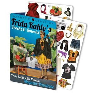 FRIDA KAHLO MAGNETIC DRESS UP