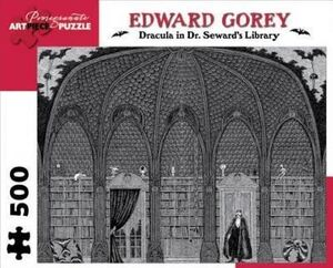 EDWARD GOREY . DRACULA IN DR. SEWARD'S LIBRARY - PUZZLE 500 PIEZAS