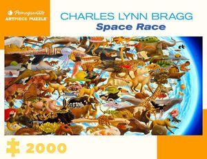 PUZZLE ROMPECABEZAS CHARLES LYNN BRAGG SPACE RACE 2000