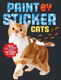 PAINT BY STICKERS CATS