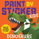 PAINT BY STICKES KIDS DINOSAURS
