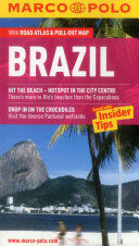 BRAZIL WITH ROAD ATLAS AND PULL OUT MAP