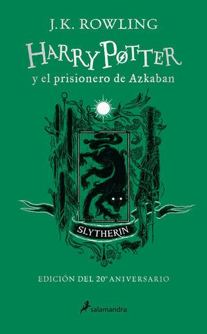 HARRY POTTER Y EL PRISIONERO DE AZKABAN (EDICIÓN SLYTHERIN DEL 20º ANIVERSARIO)