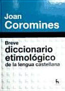 BREVE DICCIONARIO ETIMOLOGICO