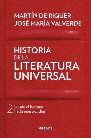 HISTORIA DE LA LITERATURA UNIVERSAL II