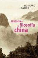 HISTORIA DE LA FILOSOFIA CHINA