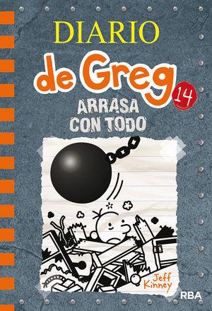DIARIO DE GREG 14. ARRASA CON TODO