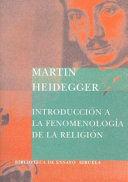 INTRODUCCION A LA FENOMENOLOGIA DE LA RELIGION