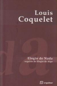 ELOGIO DE NADA