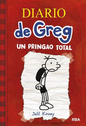 DIARIO DE GREG 1 UN PRINGAO TOTAL UNA NOVELA BASTANTE ILUSTRADA