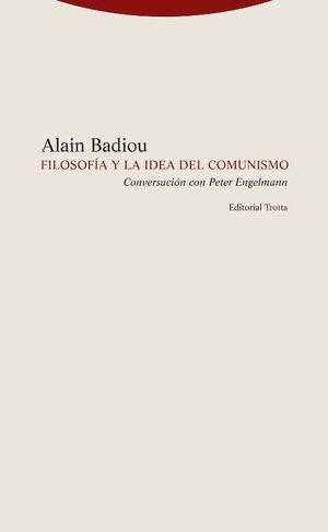 FILOSOFÍA Y LA IDEA DE COMUNISMO