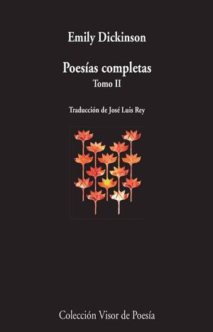 POESÍAS COMPLETAS TOMO II EMILY DICKINSON