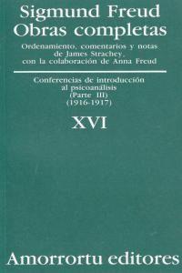 O.C FREUD 16 CONF.INTRODUCCION AL PSICOANALISIS III