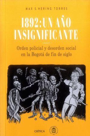 1892 UN AÑO INSIGNIFICANTE