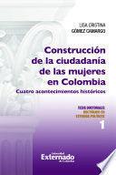 CONSTRUCCION DE LA CIUDADANIA DE LAS MUJERES EN COLOMBIA