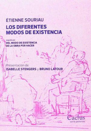 LOS DIFERENTES MODOS DE EXISTENCIA