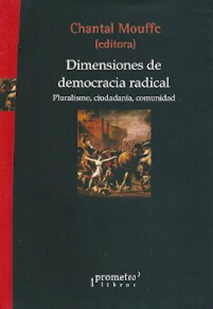 DIMENSIONES DE DEMOCRACIA RADICAL